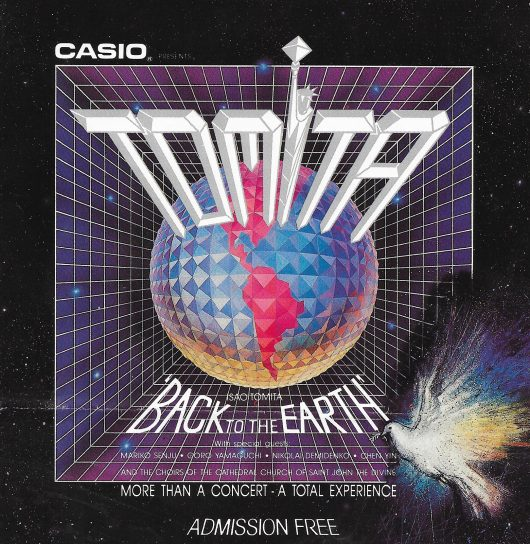 Isao Tomita In New York – 8th April 2020